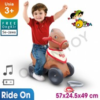 Ocean Toy Ride On Kudacu Mainan Anak - Coklat
