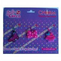 Girlie Girlz TM3330e Single Side Charm for Pen/Pencil