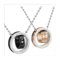 Kalung Couple Pria/ Wanita Material Stainless Steel 07
