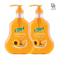 Klinsen Energizing Shower Gel 1000 ml (2 pcs)
