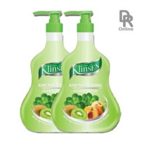 Klinsen Shower Scrub Kiwi Refreshing 1000ml (2 Pcs)