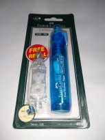 Faber-Castell Correction Tape QJR 506 Barrel Blue + 1 Refill ( 169454R )
