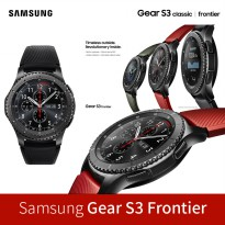 [SAMSUNG] Gear S3 Frontier Smart Watch SM-R760 <LTE> / waterproof wearable fashion mobile watch
