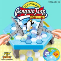 PINGUIN TRAP ACTIVATE-PENGUIN TRAP GAME-MAINAN EDUKASI ANAK