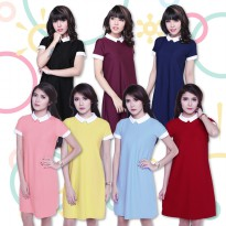 JO & NIC ELLE DRESS - Pakaian Wanita - Dress Mini
