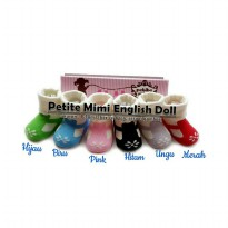 Kaos kaki Petite Mimi English doll 9-18m