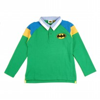 KIDS ICON - Polo Shirt Anak Laki-laki Batman with Cut and Sewn without Top Stitch - BM200900190
