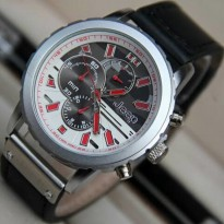 Jam Tangan Pria Anti Air Jeep Chrono JP9018