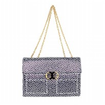 Tory Burch Gemini Link Nautical Dot Big