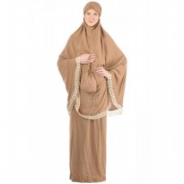 Belvanian Mukena Fashion 225 - Brown