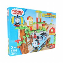 Mainan Thomas Train Set Building Blocks 8902 Isi 49 Pcs - Ages 3+