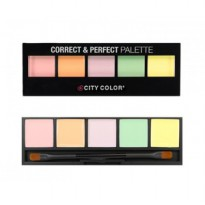 CITY COLOR Contour and Correct Corrector Cream Perfecting Pallete
