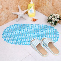 Keset Kaki Transparan Anti Slip Bathroom Mat hts006
