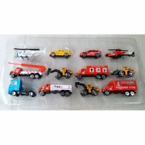Mainan Mobil Die Cast Toy Vehicles Power Driving