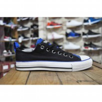 Sepatu Casual / Sepatu Converse All Star Black Blue Premium import Quality
