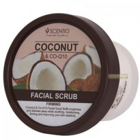 [ FACIAL SCRUB] SCENTIO COCONUT CO-Q10 BEAUTY BUFFET