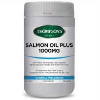 Thompson's Salmon Oil Plus 1000mg - 300 Kapsul