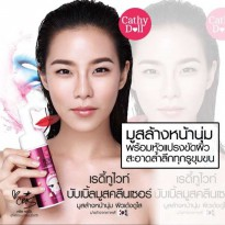 WITH BRUSH / UKURAN GEDE] MOUSSE CLEANSER 120 ML CATHY DOLL
