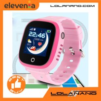 SKMEI Kids Monitoring Smartwatch LCD Screen with GPS + SOS Function - DF31G - Pink