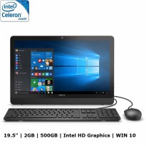 Dell AIO Inspiron 3052 - N3150 - 2Gb - 500Gb - Windows 10 - 19.5' - Resmi