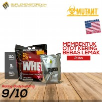 Mutant Whey Protein 2 lbs Eceran Repack 2lbs