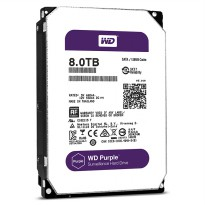 HDD INT WDC 8TB PURPLE FOR NAS 3.5 5400RPM 128MB