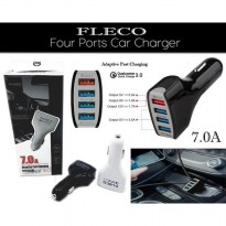 Fleco - Fast Car Charger 4 Port Qualcomm