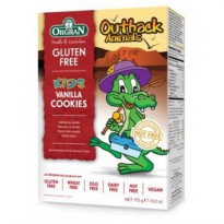 Orgran Outback Animals Vanilla Cookies