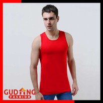 Singlet Pria Fitness Gym Polos Stretch SGL 15