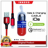 (POP UP AIA ) Kabel Data Charger Lightning IOS INNOVO Fast Charging Cable GEN.4 CK Series