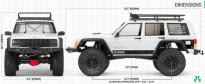 Axial SCX10 II 2000 Jeep Cherokee 1/10th Scale Electric