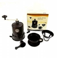 Starcam/Destec Coffee Grinder - Gilingan Kopi Manual Star Cam SCG-017