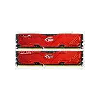 Team Vulcan 2x8GB 2400Mhz DDR3 - Merah
