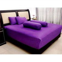 Jaxine Sprei Katun Prada Polos Uk 120 x 200 x 20cm (Single)