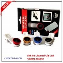 Fish Eye Universal Clip Lens