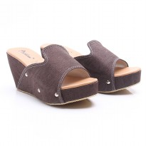 Dr.Kevin Women Wedges Sandals 27346 Brown