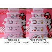 toples transparan hello kitty 5 in 1