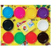FUN DOH Mix 10 warna /FUNDOH Mainan Lilin 10 warna/fundoh murah/isi doh murah/refill doh lilin murah
