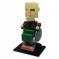 Hsanhe 6325 Action Figure Lego Cube Micro World Series Professor X