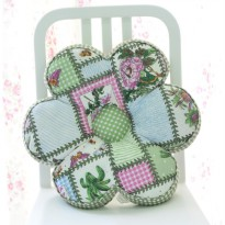 VS FLOWER CUSHION SHABBYCHIC