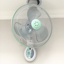 Maspion Wall Fan Aromatic+Remote 12
