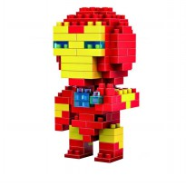LDL 110 Lego Action Figure Nano Blocks World Series Iron Man