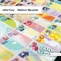 My Little Pony Sticker MEDIUM Name Label