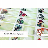 Ben10 Sticker MEDIUM Name Label