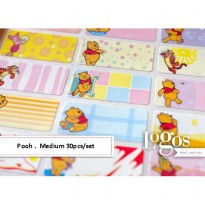 Pooh Sticker MEDIUM Name Label
