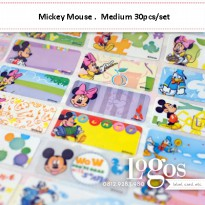 Mickey Sticker MEDIUM Name Label