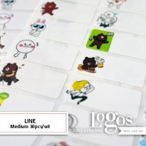 LINE Sticker MEDIUM Name Label