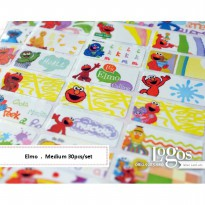 Elmo Sticker MEDIUM Name Label