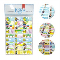 [Ready POKEMON GO] Sticker Label Nama Small (60pcs)/Medium (30pcs)/Large (18pcs) - Waterproof