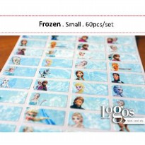Frozen Sticker. Name Label Small